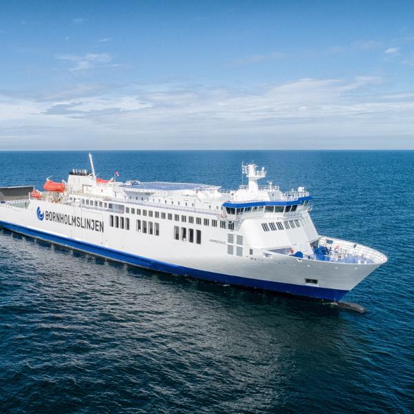 The ferries | BORNHOLMSLINJEN